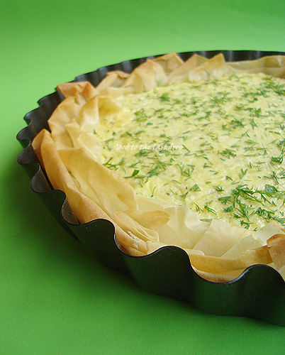 phyllo pie with cheese