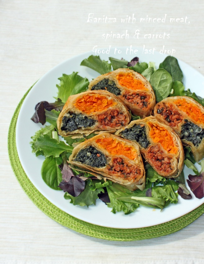 IMG_0408_Banitza with minced meat, spinach & carrots